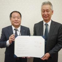 株式会社長久手温泉と業務提携締結。鈴木社長と小野田社長