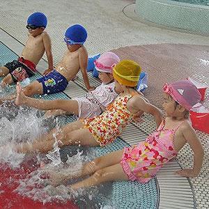 子ども水中教室
